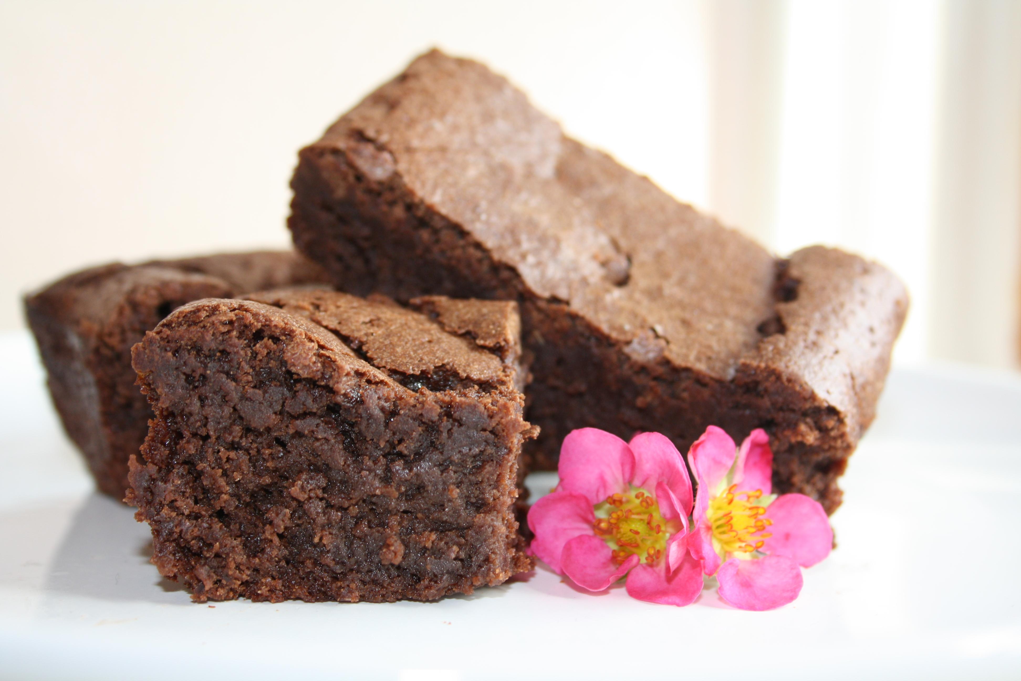 Decadent Gluten Free Chocolate Brownies