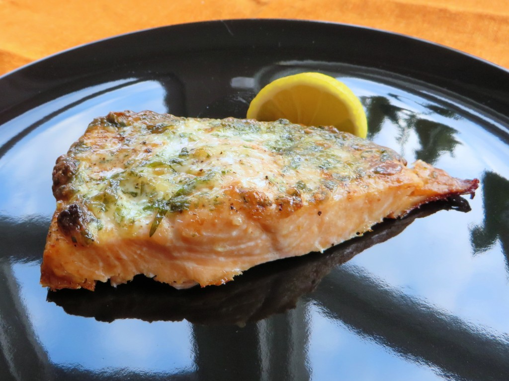 Baked Salmon with Tarragon