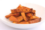 Maple Balsamic Sweet Potato Wedges
