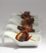 Sweet Salty Gluten Free Bacon Date Rolls