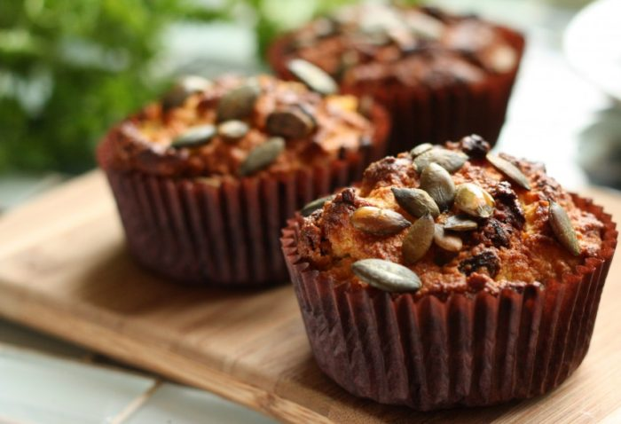 Gluten and Dairy Free Skinny Carrot Muffins