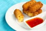 Gluten Free Deep Fried Cheese Sticks