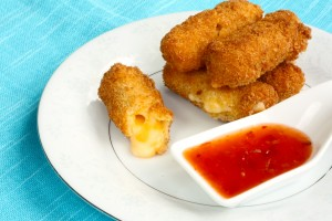 Gluten Free Deep Fried Cheese Sticks