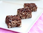 Gluten Free Puffed Oat Cake Squares