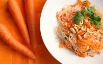 Thai Carrot Noodle Salad