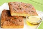 Golden Gluten Free Focaccia Bread