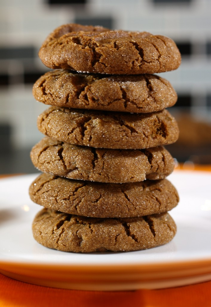 Super Spiced Ginger Cookies