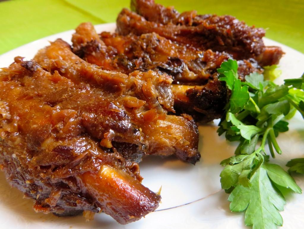 Honey Garlic Gluten Free Spare Ribs